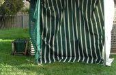 Practice de golf net de recyclé trampoline