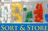 Comment trier & magasin Legos