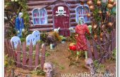 Haunted House Zombie bricolage d'Halloween