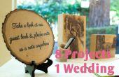 Décorez votre mariage avec bois 8 en 1 Instructable