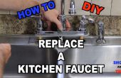 Comment faire pour remplacer un robinet d'évier de cuisine