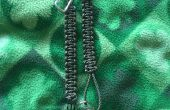 2 morceau Paracord Key Chain