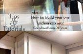 Comment construire vos propres coffrets de cuisine