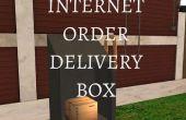 Zone de livraison Internet ordre