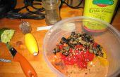 Salade italienne Baccala (morue salée) aux Olives