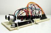Télémètre à ultrasons avec affichage à cristaux liquides sur Arduino UNO