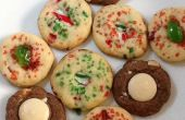 Vieux façonné glace boîte de Cookies (trois variantes)