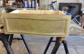 Comment reproduire un tiroir meubles courbes