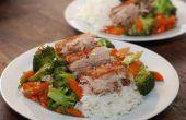 Poitrine de porc chinois croustillant cuit lentement