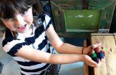 Faire des boules rapides de feutre avec des enfants