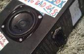 Version de haut-parleur portable 1 (Ultimate Bass-O-Box)