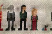 Farscape Cross Stitch : Saison quatre personnages (femmes)