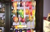 Organisateur de ruban personnalisé pour placard salle d'artisanat