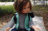 Nunchuk sans fil contrôlée animatronique poupée