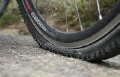 Comment réparer un pneu de vélo de montagne plate avec freins à disque