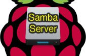 Logiciel de serveur de fichier Samba framboise