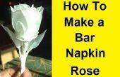 Comment faire une Rose avec une barre de serviette