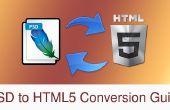 PSD à la Conversion de HTML5 : ajout d'un curseur de HTML5 vers une page Web - partie 2