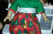 Holiday Dress pour An American Girl Doll