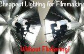 Éclairage de LED moins cher pour la réalisation de films sans scintillement !