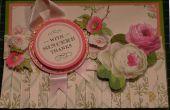 Faire une carte de Floral jupe plissée classique Anna Griffin