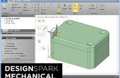 Gratuit de modélisation 3D CAD utilisant DesignSpark mécanique