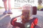 Robot de suivi d'objets