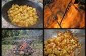 Construire un feu de camp et préparer un repas délicieux
