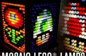 Mosaique lampes LEGO