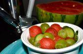 Boissons gazéifiées salade de fruits