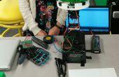 Lumière de détection mécanique et les capteurs Flex contrôlée fleur Robot