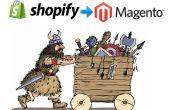 Comment migrer toutes les données de Shopify à Magento en 7 étapes faciles