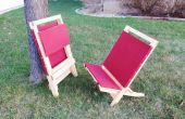 Chaises en bois Flat-Pack