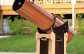 Télescope en bois partie 2: Tubes et Mont