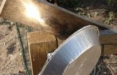 Tarte Tin réflecteur solaire