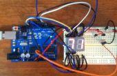 Arduino numérique 7 segments thermomètre