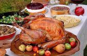 Dîner de Thanksgiving facile, maison