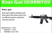 K ' NEX pistolet / tireur de flèche