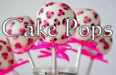 Comment faire des Cake Pops !