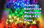 Arduino contrôlée positionnel RGB LED sapin