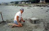 Construisez un château de sable avec votre papa