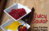 Sphères juteuse Snack - cuisine facile Science