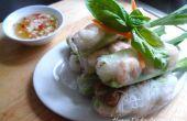 Vietnamien - rouleaux de printemps de Style