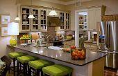 Visez vert avec énergie efficace cuisine Options d'éclairage: LED Lights