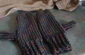How to Make Warm Mittens Using a Round Loom