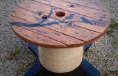 Cable bobine/tambour de Table avec Custom Design