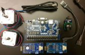 À l'aide d'une manette de contrôle de moteurs pas à pas avec un FPGA