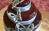 Cupcake dans un gâteau de mariage gâteau Costume /Jumbo