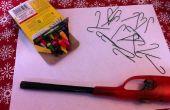 Crayons à dessiner ornements