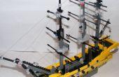LEGO HMS Victory avec gréement !